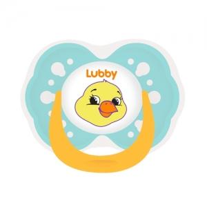 "LUBBY Соска-пустышка латексная  ""Веселые животные""  0+ мес 15926"