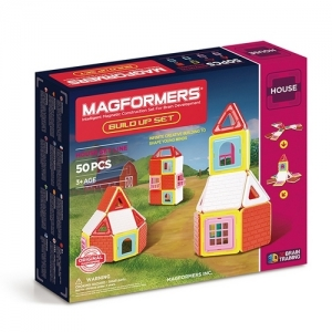 "MAGFORMERS Магнитный конструктор ""Build Up Set 50"" 705003"