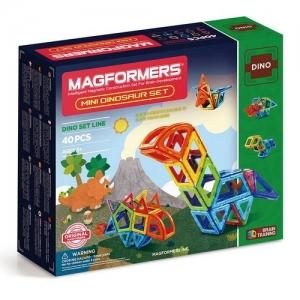 "MAGFORMERS Магнитный конструктор ""Mini Dinosaur Set 40"" 708003"