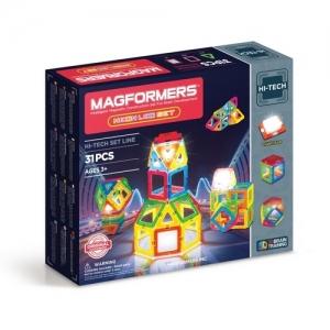 "MAGFORMERS Магнитный конструктор ""Neon Led Set 31"" 709007"