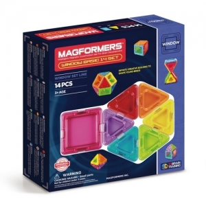 "MAGFORMERS Магнитный конструктор ""Window Basic 14 Set"" 714001"