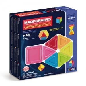 "MAGFORMERS Магнитный конструктор ""Window Solid 14 Set"" 714005"