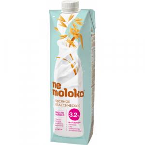 Nemoloko напиток овсяный классический 3,2% 1 л.