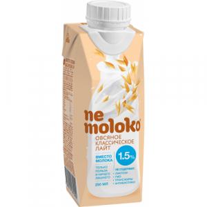 """""""Nemoloko"""" Овсяное классическое Лайт 1,5% 250 мл."""