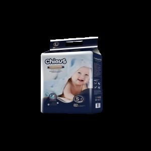 Подгузники CHIAUS Cottony Soft  S (4-8 кг) 82 шт.