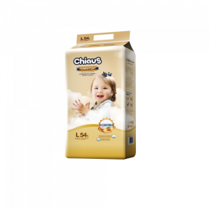 Подгузники CHIAUS Golden Care  L (9-14 кг) 54 шт.