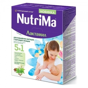 """ЛАКТАМИЛ """"NutriMa"""" для повышения Лактации у кормящих женщин 350 г."""