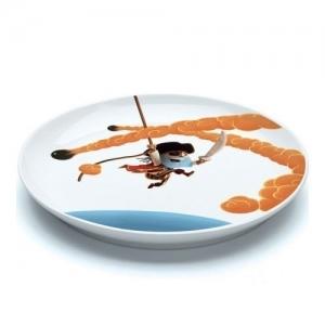 """DJECO Большая плоская тарелка """"Пираты"""" 02404"""
