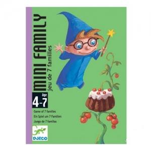 05101 DJECO Настольная карточная игра Мини-семья