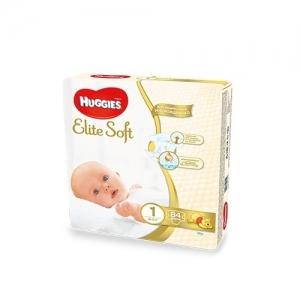 HUGGIES подгузники  Elite Soft № 1 (до 5 кг) 84 шт.