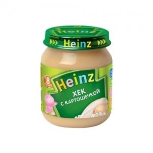 """""""Heinz"""" пюре Хек с Картошечкой с 8 месяцев 120 г."""