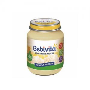 """""""Bebivita"""" пюре Цветная капуста с 4,5 месяцев 100 г."""