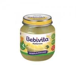 """""""Bebivita"""" пюре Кабачок с 4 месяцев 100 г."""