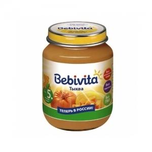 """""""Bebivita"""" пюре Тыква с 5 месяцев 100 г."""