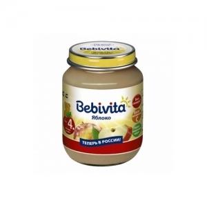 """""""Bebivita"""" пюре Яблоко с 4 месяцев 100 г."""