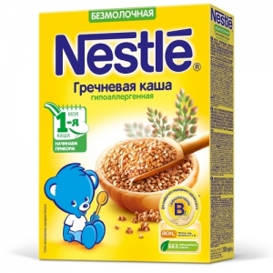 Nestle Каша Безмолочная Гречневая Гипоаллергенная 200 г. с 4 месяцев