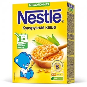 Nestle Каша Молочная Кукурузная 220 г. с 5 месяцев