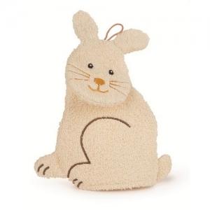 """EGMONT Мягкая игрушка-варежка для ванной """"Зайка"""" 110053"""