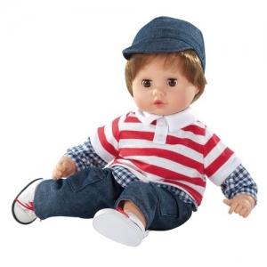 1220980 Gotz Куклаi Muffin-мальчик ,шатен в джинсах