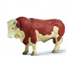 Домашние животные бык Коричневый (Bull broun/white) 13138