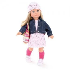 1490366 Gotz Кукла Precious Day Girl блондинка в джинсовом пиджаке