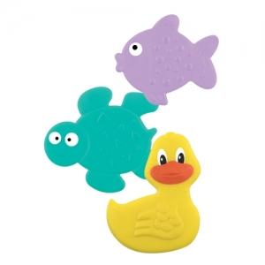 """LUBBY Коврики для ванны """"Подводный мир"""" 0+ мес, 3шт 15766"""