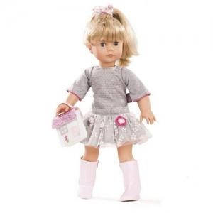 1690391 Gotz Кукла Precious Day Girl блондинка в сером платье