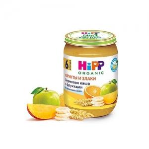"""""""HiPP"""" Зерновая каша с Фруктами БИО без добавления сахара с 6 месяцев 190г."""