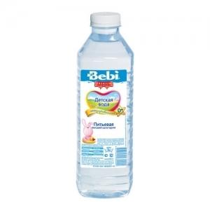 """""""Bebi"""" вода детская питьевая с первых дней жизни 1000 мл."""
