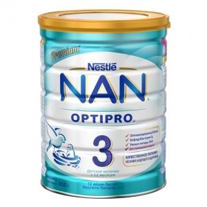 """""""NAN 3""""  детское Молочко с 12 месяцев 800 г."""