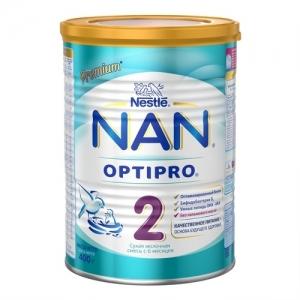 """NAN 2"" Сухая молочная смесь с 6 месяцев. 400 г."