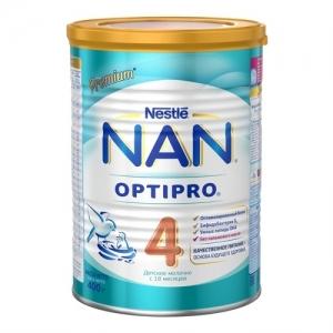 """NAN 4"" Сухая молочная смесь с 14 месяцев. 400 г."