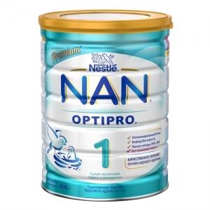 """""""NAN 1"""" Сухая молочная смесь с рождения 800 г."""