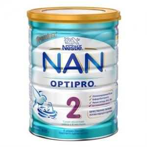"""NAN 2"" Сухая молочная смесь с 6 месяцев 800 г."
