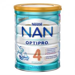 """""""NAN 4"""" детское Молочко с 18 месяцев 800 г."""