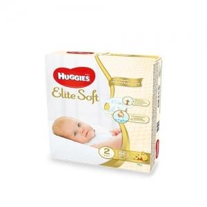 HUGGIES Elite Soft подгузники № 2 (4-7 кг) 66 шт.
