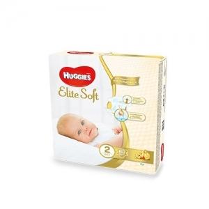 HUGGIES Elit Soft Mega-Pack подгузники  №2 (3-6 кг) 88 шт.