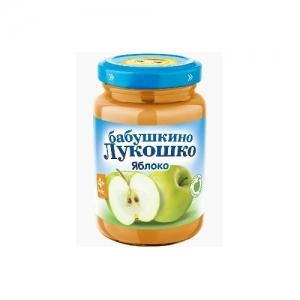 """""""Бабушкино лукошко"""" пюре Яблоко без сахара с 3,5 месяцев 200 г."""