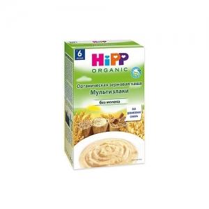 """""""HiPP"""" каша безмолочная МультиЗлаки без сахара с 6 месяцев 200 г."""