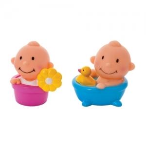 """25162 """"КУРНОСИКИ"""" Набор игрушек-брызгалок для ванны""""Пупсики"""" 6+ мес"""