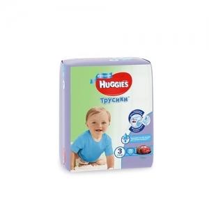 Трусики-подгузники HUGGIES для мальчиков Conv-Pack №3 (7-11 кг) 19 шт.