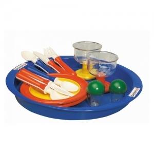 3052 Spielstabil Набор посуды ЛАНЧ в сумочке