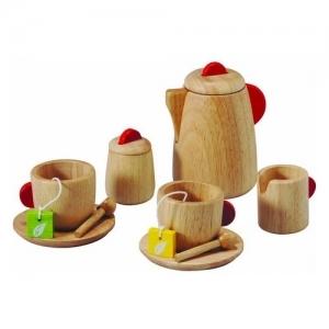PLAN TOYS Деревянная игрушка Чайный сервиз 3433