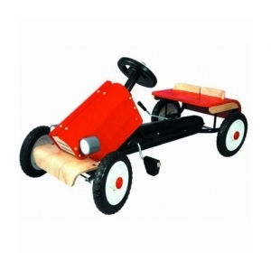 3445 PLAN TOYS Деревянная игрушка Гоночный автомобиль