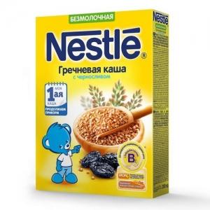 Nestle Каша Безмолочная Гречневая с Черносливом 200 г. с 4 месяцев