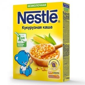 Nestle Каша Безмолочная Кукурузная 200 г. с 5 месяцев