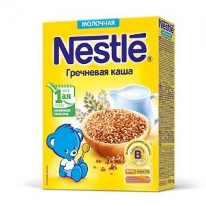 Nestle Каша Молочная Гречневая с бифидобактериями 220 г. с 4 месяцев