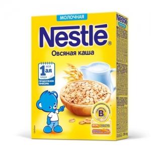 Nestle каша Молочная Овсяная 220 г. с 5 месяцев
