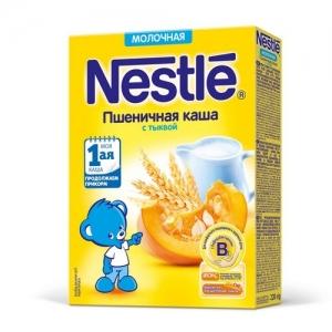 Nestle каша Молочная Пшеничная с Тыквой 220 г. с 5 месяцев