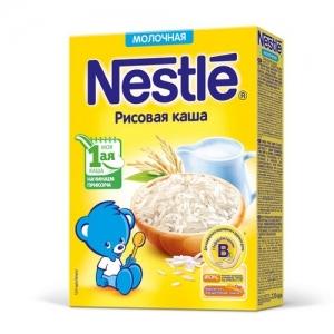Каша Nestle Молочная Рисовая с бифидобактериями 220 г. с 4 месяцев